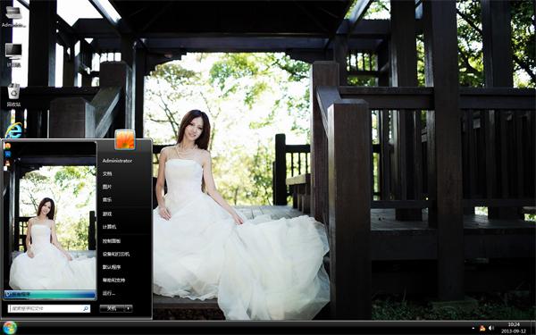 婚纱新娘美女主题