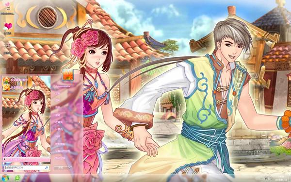 中国古风绘画唯美主题