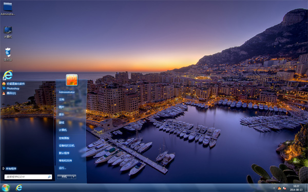 海港城市风景主题