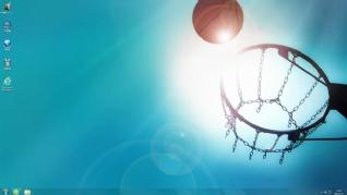 篮球win7电脑主题下载