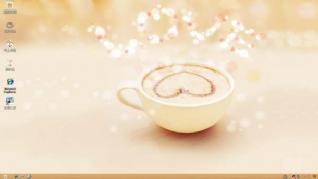 温馨奶茶XP主题