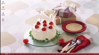 生日蛋糕XP主题下载