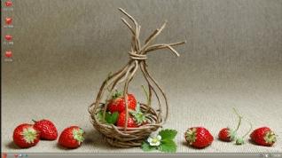 草莓XP桌面主题下载