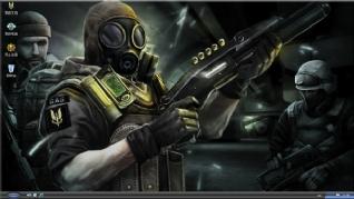 SAS反恐特战队主题