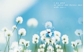 蓝色小熊xp主题