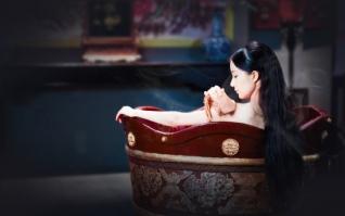 美人沐浴xp主题