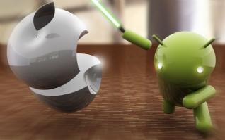 安卓对苹果xp主题