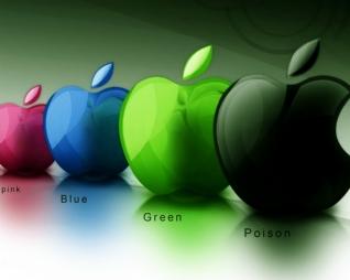 彩色苹果xp主题