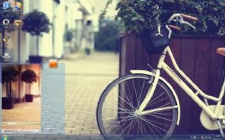 单车时光win7桌面主题壁纸