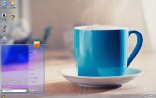 紫砂茶杯Win7主题