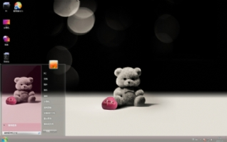 可爱小熊win7主题下载