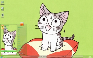 甜甜起司猫可爱主题