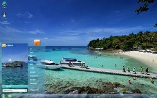 泰国普吉岛清新风景主题