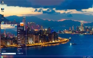 璀璨城市夜景主题