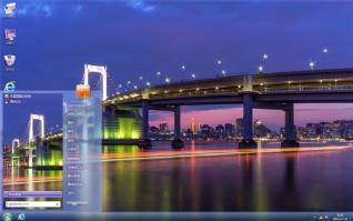 都市立交桥夜景主题