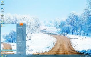 冬雪美景电脑主题