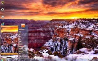 亚利桑那州大峡谷风景主题