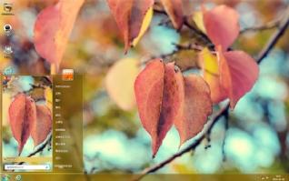 秋叶意境风景主题