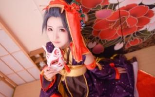 刀剑乱舞cosplay妩媚女生