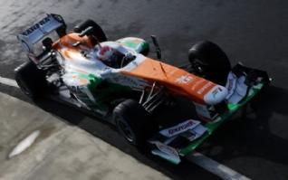 印度力量F1车队电脑壁纸下载免费