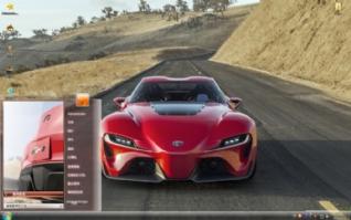 丰田超级概念跑车电脑主题