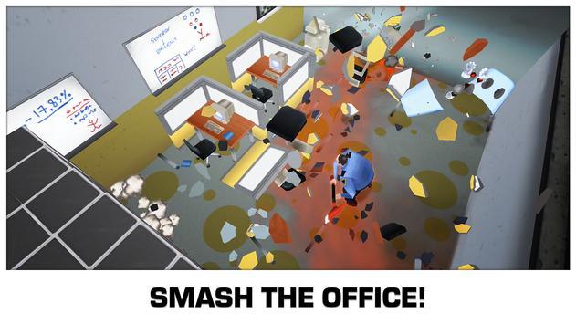 超级粉碎办公室无限金币版