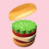汉堡完美切片