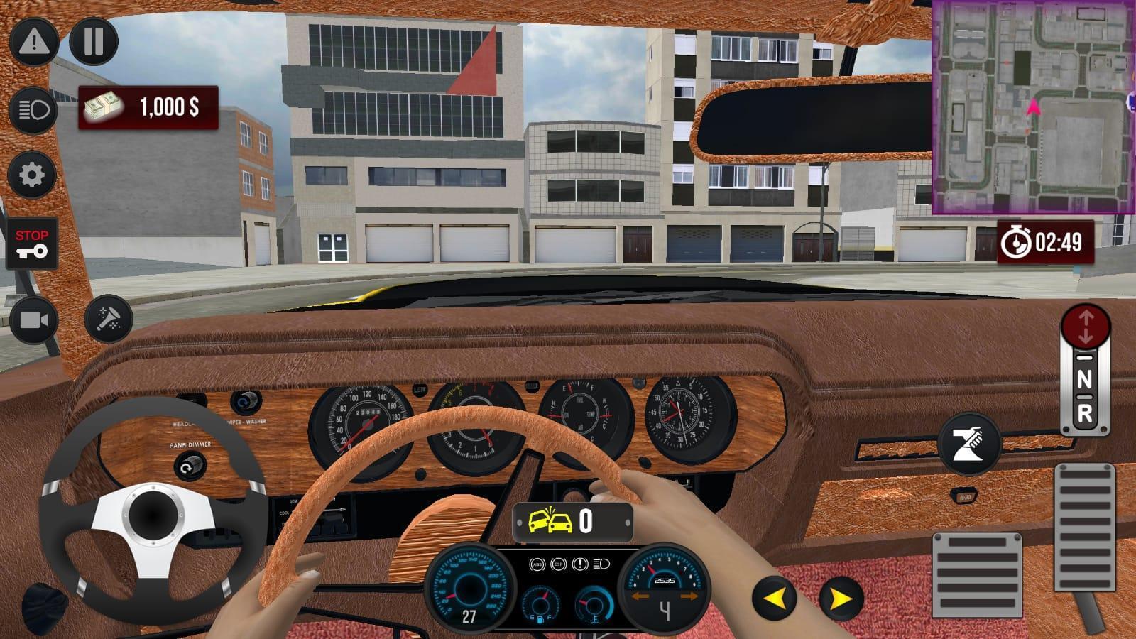 黄色出租车模拟器驾驶安卓版