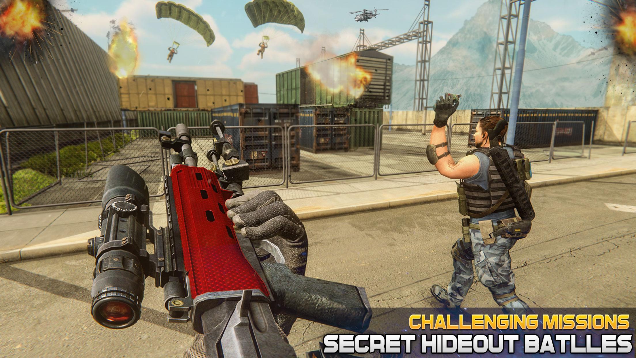 现代陆军射击战争游戏中文汉化版下载