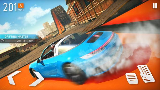 汽车特技比赛超级坡道游戏下载