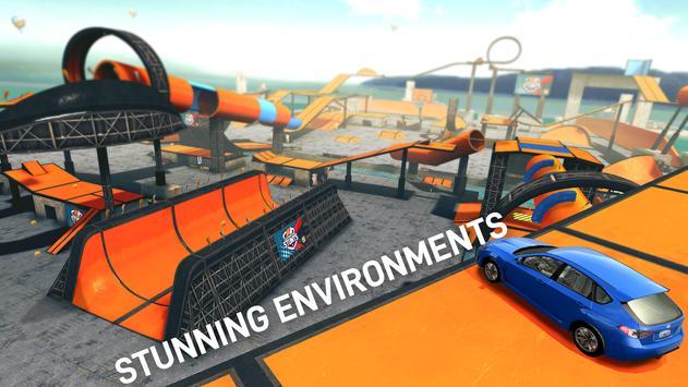 汽车特技比赛超级坡道游戏攻略