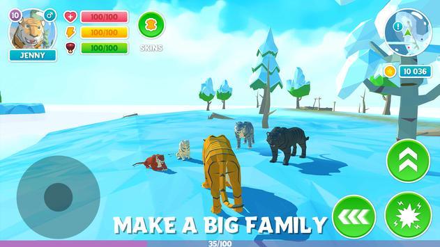 冬季老虎家庭模拟器3D官网版下载