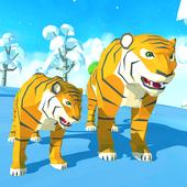 冬季老虎家庭模拟器3D