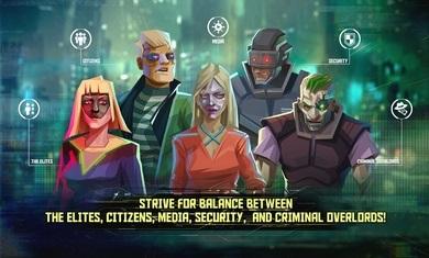 无限集团:赛博朋克卡牌决策汉化版