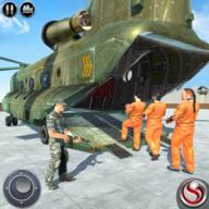 美国陆军直升机囚犯运输