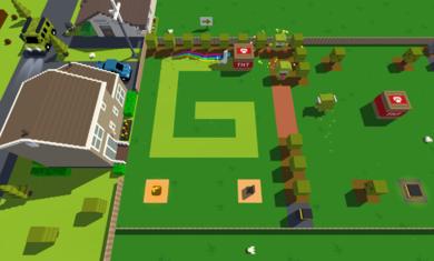 变异草坪游戏