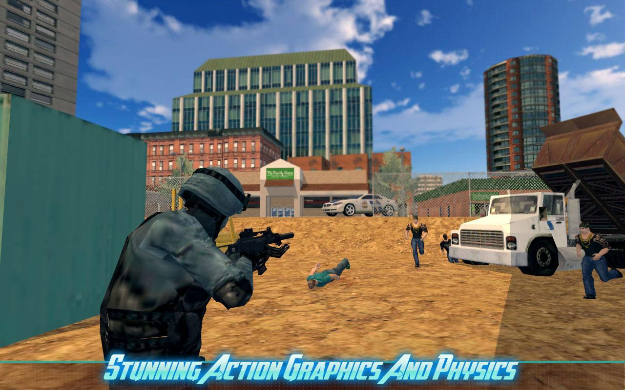 战士警察:恐怖亨特游戏最新版