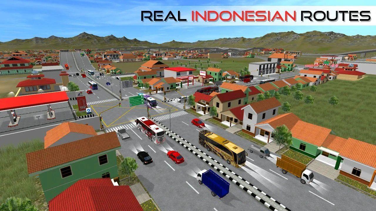 印尼巴士模拟器汉化版怎样换车标的