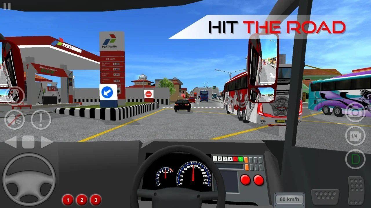 印尼巴士模拟器汉化版怎么联机
