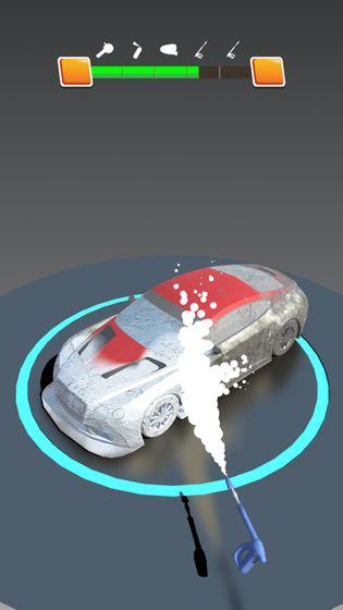 汽车修复3D游戏
