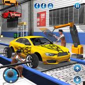 跑车制造商工厂:汽车技工游戏