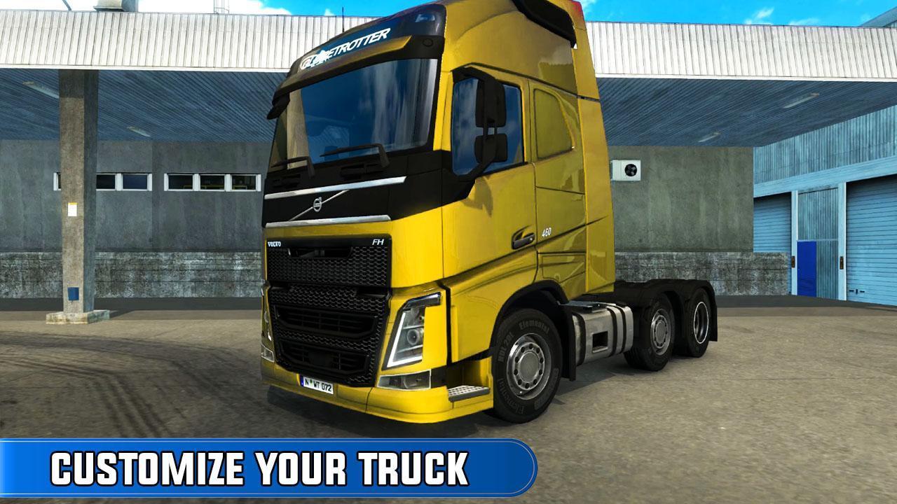 欧洲卡车司机越野货物运输最新免费版