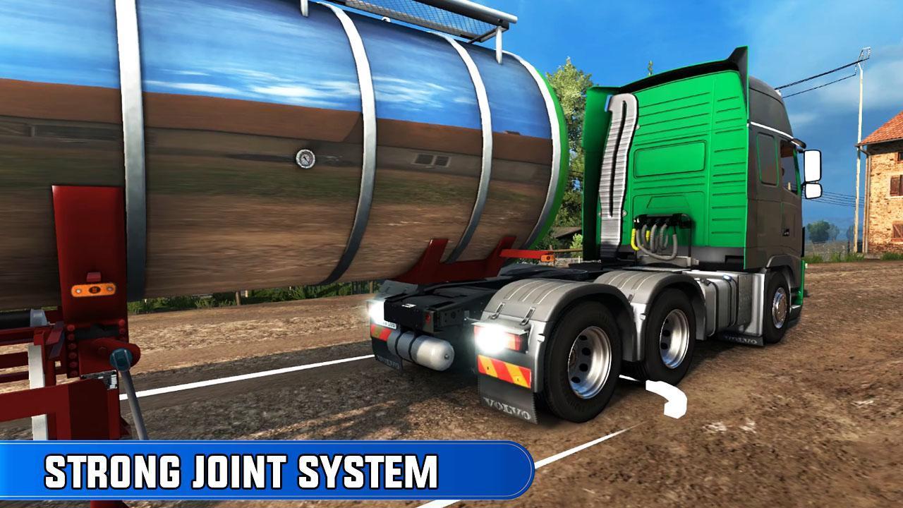 欧洲卡车司机越野货物运输汉化安卓版