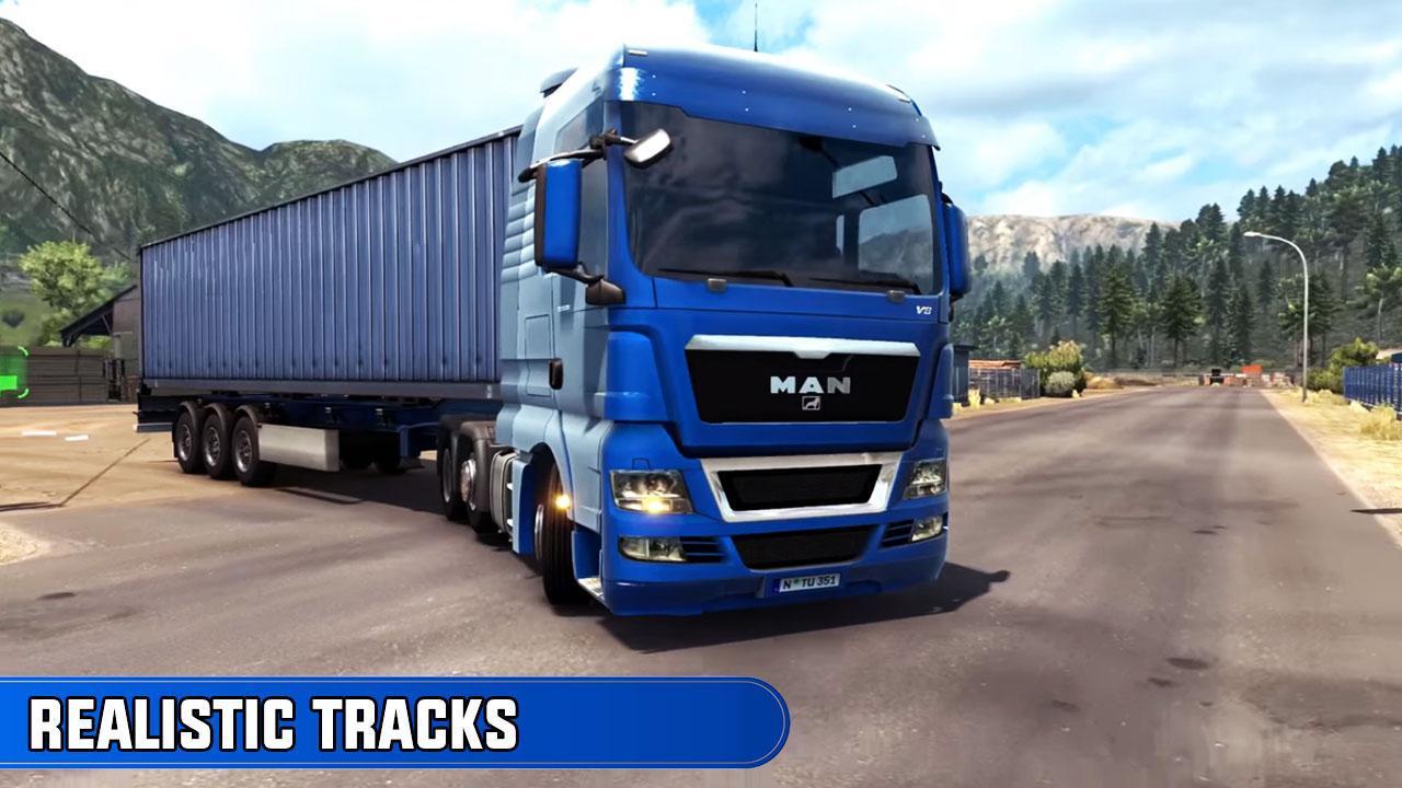 欧洲卡车司机越野货物运输免内购破解版