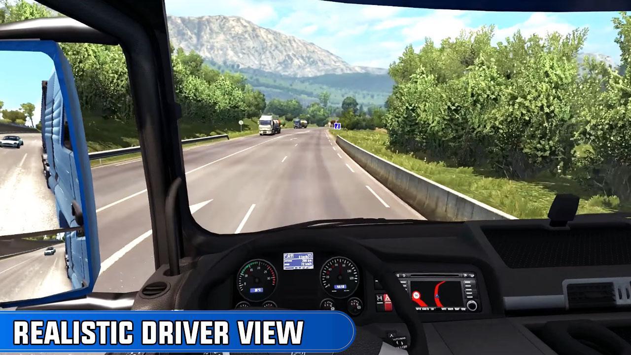 欧洲卡车司机越野货物运输下载