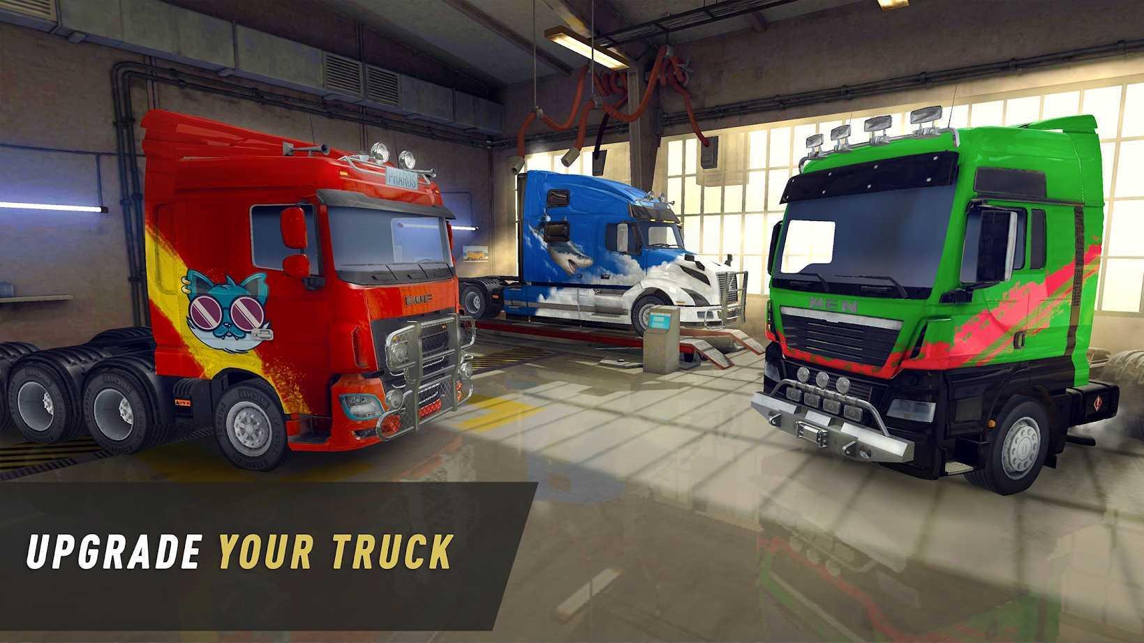 卡车世界欧洲与美国之旅手机办游戏下载