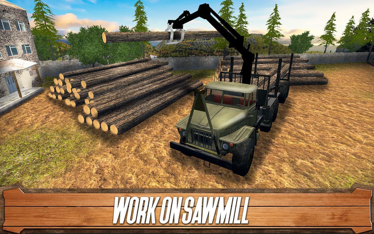 锯木厂司机安卓版下载