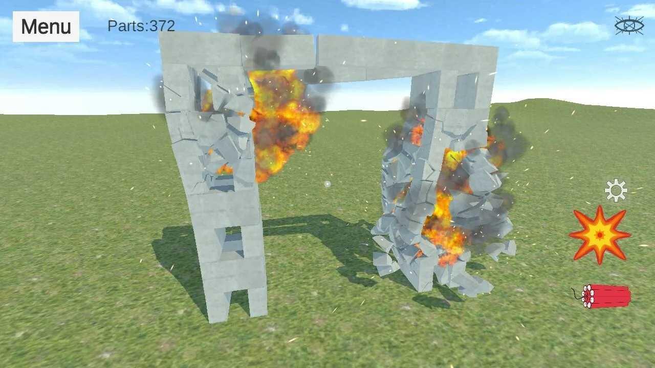 爆破物理模拟器完整版