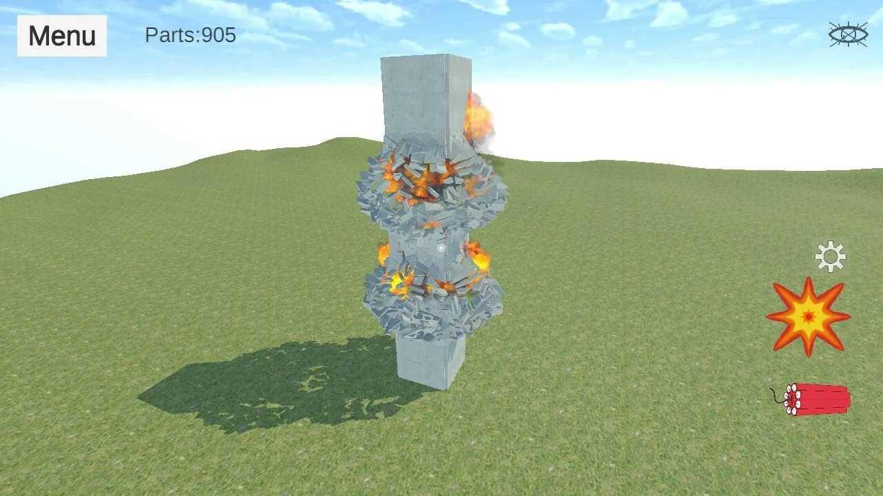 爆破物理模拟器全地图解锁版