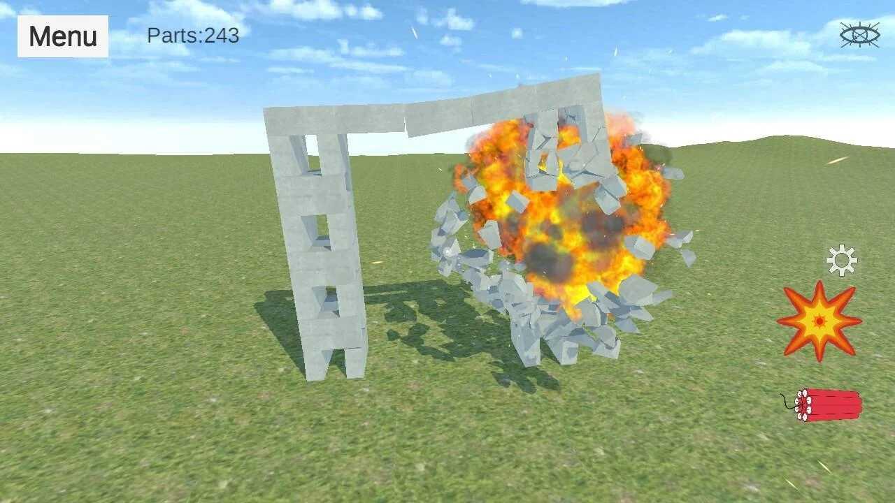 爆破物理模拟器中文版下载